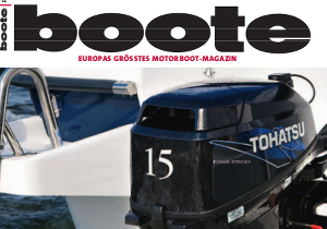 boote 2013 - offprint for Tohatsu about the new 15